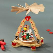 German Christmas Pyramid with children