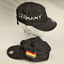 Cap Hat Deutschland Germany Black