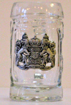 Shot Glass Mug Bayern Crest