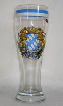 Bayern (Bavarian) Wheat beer glass