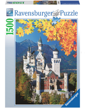 Ravensburger Puzzle Neuschwanstein in Autumn