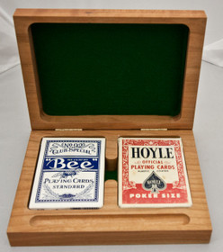 2 Deck Playing Card Box