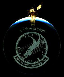 29th Squadron Christmas ornament