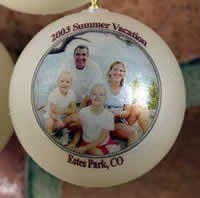 Great gift ideas for the Tree to remember past holidays and family vacations.
