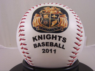 Knights Baseball 2011 little league personalized baseball