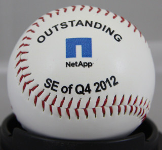 Outstanding 4th quarter custom corporate baseball gift