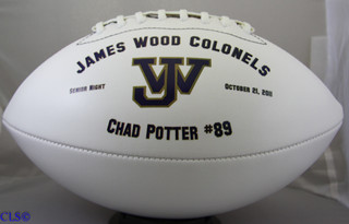 Graduation Personalized Football