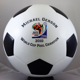 Personalized Soccer balls are a unique gifts for all ages.