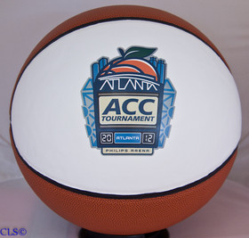 Customized Fullsize ACC Tournament Basketball