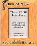 Graduation is a very special time in life. Remember those types of events by customizing a frame to display your favorite photos. A great way to decorate your home year-round. Your Friends and family will love this frame and they'll treasure it forever!