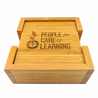 Eco friendly personalized bamboo coasters are made from a renewable resource, these are a great gift for those who strongly believe in being green.