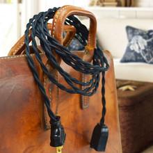 Black Cloth Wire
