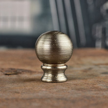 Large Nickel Finial