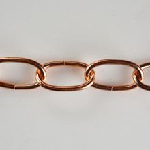 Polished Copper Chain