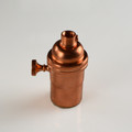Solid Copper Light socket