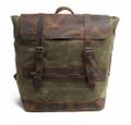 Green Rucksack Bag