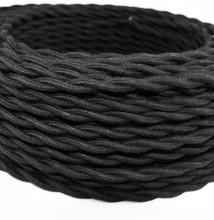 Black Cotton Vintage WIre
