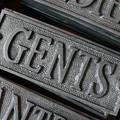 Gents Door Sign