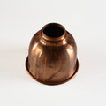 copper finish metal shade