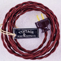 Burnt Copper Lamp Cord