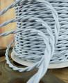Silver Gray Vintage Wire