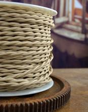 Sahara Beige Cloth-Covered Wire