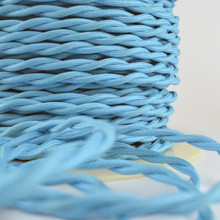 Sky Blue Cloth WIre
