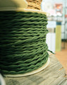 Forest Green Cloth WIre