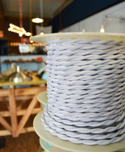 White Cloth Wire