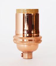 Polished Copper Lamp Socket