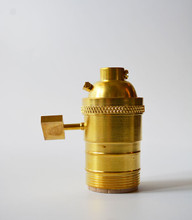 Unfinished Brass Socket