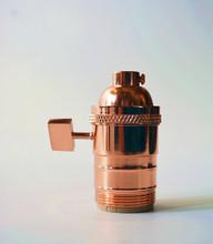 Polished Copper uno lamp