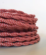 Peppermint Twist Cloth-Covered Wire