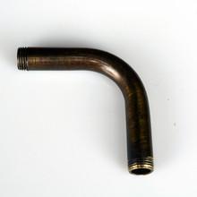 Bent Arm - Antique Brass