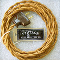 Golden Bronze Lamp Cord