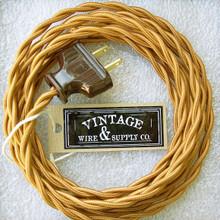 Golden Bronze Lamp Cord