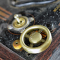Dimmer Wheel Knob - Antique Brass