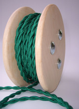 Green Vintage Cord