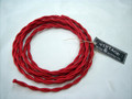 Red Cloth-Covered Wire