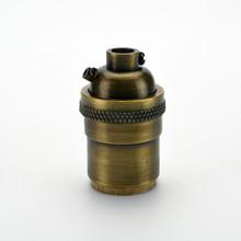Antique Brass Grounded Socket
