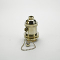 Quality Socket - Polished Nickel