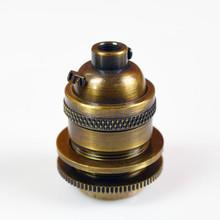 Antique Brass Keyless UNO socket
