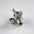 Nickel Swivel Clutch
