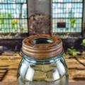 Mason Jar Lid - Rust
