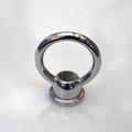 Polished Nickel Loop Ring