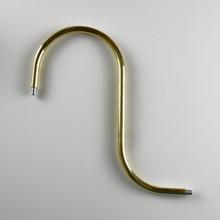 Brass Goosneck Pipe