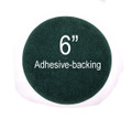 """Felt for Fans & Lamps - Green - 6"""" Round Adhesive Backed"""