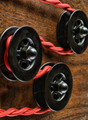 Black Pulley Wheel