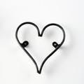 "6"" Vintage Metal Symbol - Heart"