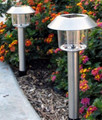 2-Pack Stainless Steel White LED Solar Light (e98n)